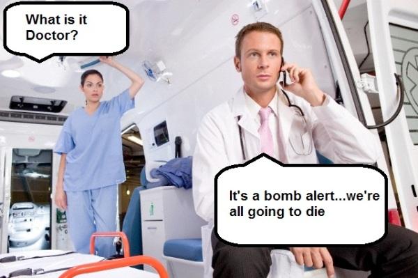 A team of paramedics